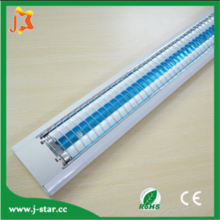 Replacable T8 cfl fluorescent fitting China manufactory wholesale grill suspended for office use