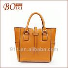 Wholesale low MOQ designer fashion genuine leather brand handbag women