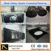 Black Galaxy Prefabricated Granite Countertops Lowes