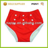 One Size Training Pants, Resuable & Washable Hot Sale Baby Cloth Training Pants