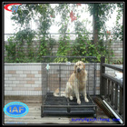 Welded wire mesh dog cage trolley