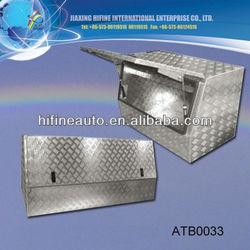 upright Large size aluminium tool box