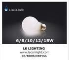 led bulb e 27 AC110V/ 220V-240 CRI 80 E27 dimmable led bulb 2700k liquid cooled led bulb