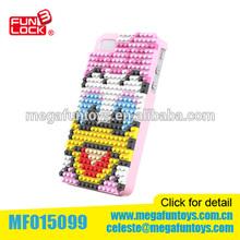 IPhone 4S phone case nano blocks toys Donald Duck