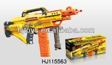 Children's Battery Operated Soft Bullet Gun/ Nerf Soft Bun Toys /Plastic Toys Gun