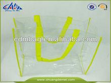 2015 FASHION Transparent Plastic Shopping Bag
