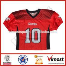 free custom quality american football jersey supplying