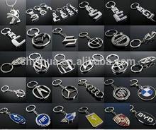 Promotional car logo keychain