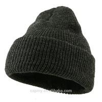 Custom Knitted Hats Pom Pom Beanie Hats Wholesale--CMC-8401