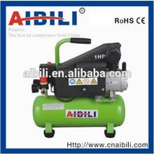 Portable mini air compressor with 8L 0.75KW/1HP