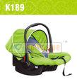 Oto bebek taşınabilir beşik yuva, çocuk bebek beşiği araba koltuğu
