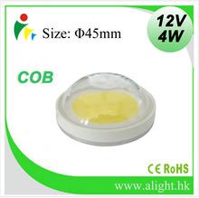 InGaN Chip Material COB Round type 4W 12V LED chip