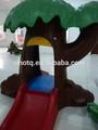 2014 новейшие природных ребенком играть крытый оборудование для игровых площадок волшебное дерево