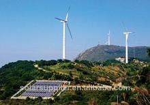 la luce del vento solare vento e solare sistema ibrido generatore 1kw asse verticale della turbina di vento