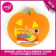 halloween pumpkin foam shape kids crafts