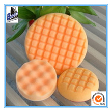 foam buffing pads for car polishing, orange color