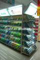 2014 preço alta qualidade competitiva serviço pesado duplo- lado cosméticos prateleira da loja