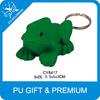 Anti Pu Cartoon Frog Keychain Fancy Green Frog Keychains