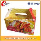 cartoon design Food grade ivory paper fast food Box