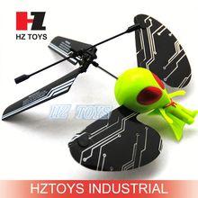 2ch remote sensing flying alien toy,flutterbye flying fairy