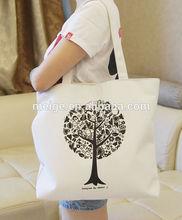 2015 hot style wholesale canvas bag/canvas tote bag/cotton canvas bag