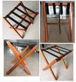 De madera plegable para el equipaje bastidores, la habitación del hotel rack de equipaje