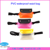 2014 Popular trend plastic pvc waterproof beach bag with snap fastener