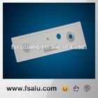 aluminum precision cnc machining part audio faceplate