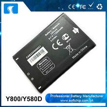 li-ion battery 3.7v 4.2v 1500mah for Alcatel Y800 Y580D battery
