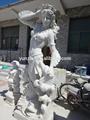 escultura de arte da china planta