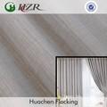 Poliéster slubbed de rosto de bambu cortina jacquard tecido fabricação PE reunindo de poupança de energia greenguard fornecedor tecido