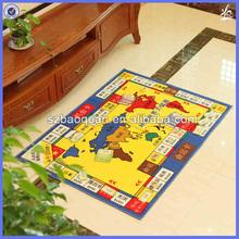 monopoly/printing play mat/polypropylene floor mats