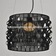 modern black murano glass chandelier