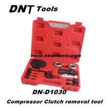 High quality 12 pcs A/C Compressor clutch removal tool kit&auto garage tools