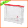 transparent PVC bag/ PVC zip bag/pvc waterproof zip lock bag