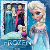2014 HOT Sale Movie Frozen Doll Cute Elsa & Anna & Olaf Doll Figure Baby Kids Toy