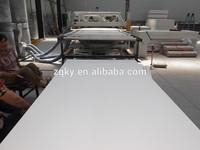 high quality white 4x8ft pvc celuka board with different density / pvc celuka foam board / celuka pvc foam board