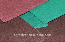 Non-Woven abrasive roll non-woven pad Non-woven sheet