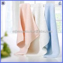 bamboo baby towel/baby saliva organic cotton towel