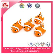 ICTI manufacturer swimming floating nemo mini plastic fish toy