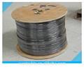 75 ohm cabo coaxial rg6 305m/carretel de madeira