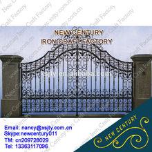 ornamental house iron gate / wrought iron main gate design /iron gate models