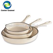enamel cast iron cookware sets fry pan french onion soup pan
