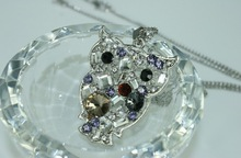N816 Fashion Jewelry Trend 2014 Payment Asia Alibaba China Animals and Women and Women Sex Photos Pendant Necklace Owl Pendant