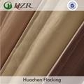 Faux silk100% polyster slubbed/bambu cortina enfrentou a fabricação de tecido revestido pe eco- friendly greenguard fornecedor de tecido