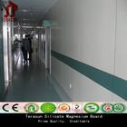 CE approval fiber cement sheet flat soundproof partition walls