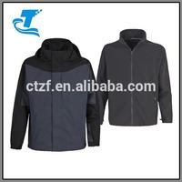 2015 Newest Men's 3-in-1 Waterproof Removable Inner Jacket