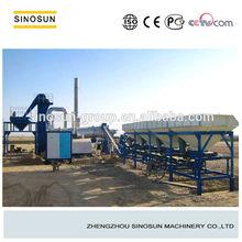 Mini drum asphalt mixing plant with capacity of 40t/h