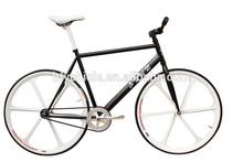 NEW DESIGN!!!Tianjin produced 700C fix gear bike with alloy uni-wheel