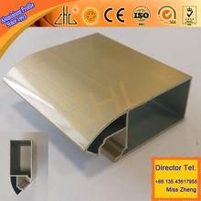HOT OEM profile aluminum price per kg, updated like colors aluminium profiles to make door, aluminum profile for kitchen cabinet